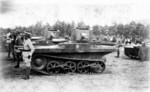 Chinese Army Light Amphibious Tanks, 1930s