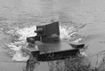 Vickers-Carden-Loyd A4E12 Light Amphibious Tank in water, 1930s