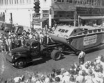 LVT-1 parading in Lakeland, Florida, United States, 1941