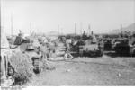 Italian M14/41 tanks and Semovente 75/18 assault guns in Italy, Sep 1943