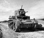 British M2A4 light tank, 11 Mar 1942