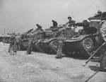 US troops training with M2 light tanks, Fort Knox, Kentucky, United States, Jun 1942