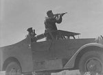 M3A1 Scout Car in exercise, Fort Riley, Kansas, United States, date unknown, photo 1 of 4