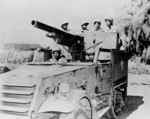 US Army M3 Gun Motor Carriage with African-American crew, circa 1943