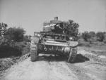 M3 light tank in training at Fort Knox, Kentucky, United States, Jun 1942, photo 3 of 4