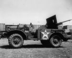 M6 Gun Motor Carriage with 37 mm Gun M3 anti-tank gun, Newport News, Virginia, United States, 3 Aug 1943