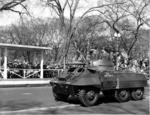 M8 on parade in the United States, 7 Apr 1948