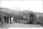 Camouflaged Marder III Ausf. M tank destroyer in Italy, Apr-May 1944, photo 2 of 2