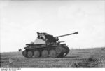 Marder III Ausf. H tank destroyer during Battle of Kursk, Russia, summer 1943