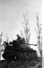 Marder III tank destroyer near Stalingrad, Russia, summer 1942