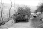 Camouflaged Marder III Ausf. M tank destroyer in Italy, Apr-May 1944, photo 1 of 2