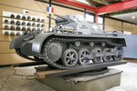 Panzer I Ausf. A light tank on display at the Panzermuseum (German Tank Museum), Munster, Germany, 7 Aug 2005