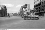 German Tiger I heavy tank in Kharkov, Ukraine, 1943