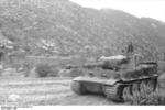 Tiger I heavy tank in Tunisia, 1943