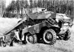 SdKfz 231 (8-Rad) armored vehicle, date unknown