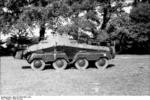 SdKfz 231 (8-Rad) armored vehicle of the German Hermann Göring Division, early 1942