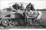 SdKfz. 251/3 communications vehicle, northern Russia, Jun 1941