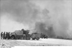 German SdKfz. 7/2 half-track vehicle with light anti-aircraft gun, Russia, 21 Mar 1944