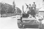 Russian T-26 light tank in Tabriz, Persia, Sep 1941