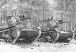 Soviet T-26 light tanks in Finland, 1939