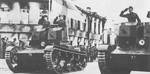 Soviet-built T-26 Model 1931 light tanks in Finnish service, 1941