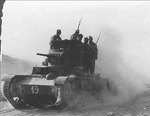 T-26 Model 1933 light tank, Battle of Belchite, Spain, Sep 1937