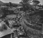 Type 89 I-Go medium tanks in a Chinese village, late 1937 to early 1938