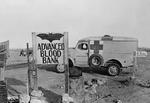 Dodge 1/2 ton ambulance in British service, Libya, 1942