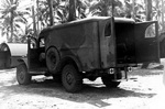 Dodge WC54 3/4-ton field ambulance in rare camouflage paint scheme, Pacific Theater, 1942-1945