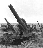 203 mm Howitzer M1931 of Soviet 3rd Byelorussian Front, summer 1944