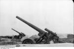 21 cm Mrs 18 heavy howitzer, Lapland, Norway, 1941, photo 1 of 2