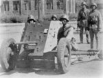 Chinese 88th Division 3.7 cm PaK 36 gun and its crew, date unknown
