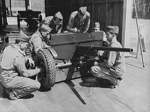 37 mm Gun M3 and its crew, Fort Benning, Georgia, United States, Apr 1942