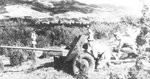 Soviet 45 mm M1942 (M-42) anti-tank gun with its crew, date unknown