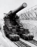 80cm Gustav gun, date unknown
