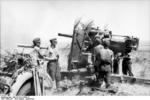 German 8.8 cm FlaK gun in Russia, Aug-Sep 1942, photo 1 of 3