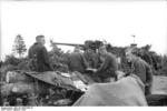 German 8.8 cm FlaK gun in Russia, 1942, photo 2 of 2