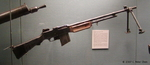 Browning Automatic Rifle on display at the West Point Museum, United States Military Academy, West Point, New York, United States, 22 Sep 2007