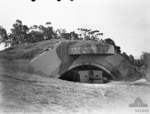 9.2-inch coastal defense gun of Drummond Battery, Kembla Fortress, New South Wales, Australia, 11 Oct 1944