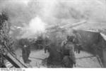 German paratroopers manning a 7.5 cm Flak 264/3(i) anti-aircraft gun, San Felice Circeo, Italy, 26 Dec 1943, photo 6 of 6