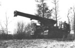 Canon de 194 mle GPF preparing for firing, date unknown