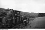 SdKfz 10/4 vehicle with a mounted 2 cm FlaK 30 anti-aircraft gun, France, May 1940, photo 2 of 3