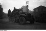 SdKfz 10/4 vehicle with a mounted 2 cm FlaK 30 anti-aircraft gun, France, May 1940, photo 3 of 3