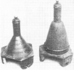 3 HL (left) and 3.5 HL (right) shaped charges, date unknown