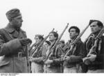 Volunteer soldiers of the German Condor Legion under training in Ávila, Spain, early 1939