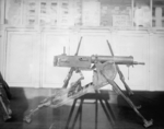 Captured German MG 08 machine gun in US possession, date unknown
