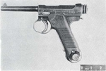 Nambu Type 14 pistol as seen in figure 1 of US Army Medical Department publication