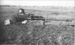 Ethnically Estonian German soldier firing a Solothurn S-18/100 anti-tank rifle, date unknown