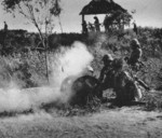 Type 92 battalion gun in action in China, circa late 1937 to early 1938