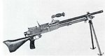 Type 96 light machine gun as seen in US Army Medical Department